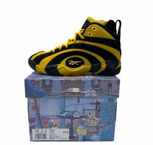 Reebok Shaqnosis Minion Shaq Fu Special Box Basketball Shoes Size 7.5 FX3343 New