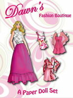 Dawn's Fashion Boutique Paper Doll Set
