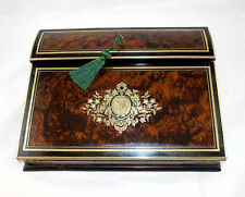 "French Antique ""Ecritoire"" Writing Box Napoleon III Blache of Lyon-Writer Gift"