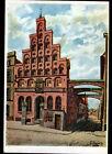 LUBECK (ALLEMAGNE) HAUS der SCHIFFERGESELLSCHAFT illustrée par G. BOESE