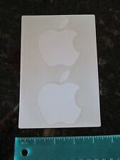 Genuine Apple Stickers set of 2 White