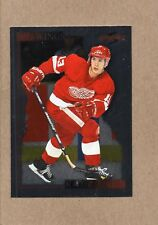 vyacheslav slava kozlov detroit red wings card 1995/96 score black ice 165