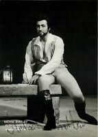 Opera - Autografo del basso Mikhail Svetlov (Mosca, 1958)