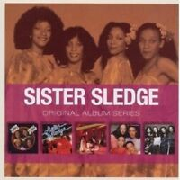 SISTER SLEDGE - ORIGINAL ALBUM SERIES 5 CD NEU