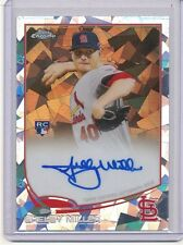 2013 TOPPS CHROME SHELBY MILLER ATOMIC REFRACTOR AUTOGRAPH 07/10
