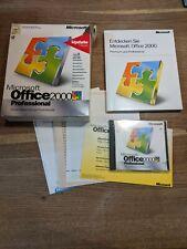 Microsoft Office Professional 2000 - 2 cds, box, manuales