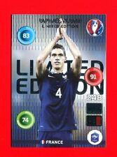 EURO FRANCE 2016 - Adrenalyn Panini - Card Limited Edition - VARANE - FRANCE