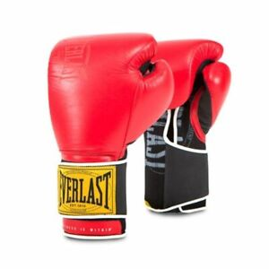 Everlast 1910 Classic Boxing 14 oz Training Gloves Red P00001707