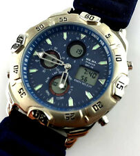 OROLOGIO FRECCE TRICOLORI CHRONO ALARM WATCH AVIATOR VINTAGE NEW OLD STOCK RELOJ