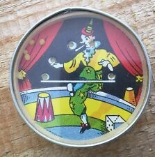 Mirror Backed German Dexterity Puzzle Juggling Clown
