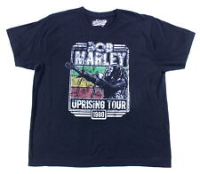 Bob Marley & The Wailers Uprising Old Navy Reproduction Concert T-Shirt Size XXL
