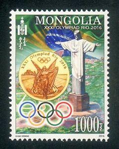 Mongolia 2016 Rio-2016 Olympic Games