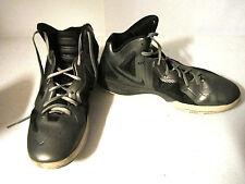Nike Zoom Hyperfuse 2011 Gun Metal/Black Size US11.5 UK10.5 EUR45.5 GC