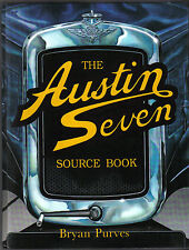 Austin Seven Source Book by Purves Detailed info + 1500 illustrations 1st ed.