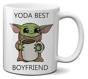 Yoda Best Boyfriend Star Wars Funny Coffee Tea Ceramic Mug Cup 330ml