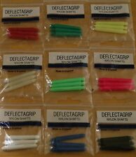 10 Sets (10X3) Assorted Short Deflectagrip Dart Stems/Shafts (2BA)