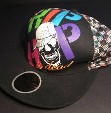 Hip Hop Is Dead 2006 Nas  Fitted Hat 7 5/8 NWOTSnap Back Mesh Back