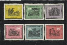 ALEMANIA, (D.D.R.). Año: 1959. Tema: FAUNA. AVES.