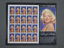 Full Sheet of 20 Legends of Hollywood Marilyn Monroe 32 cents Usps Stamps 1995 !
