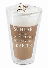 Doppelwandige Gläser Thermogläser Latte macchiato Glas Cappuccino Thermo Glas