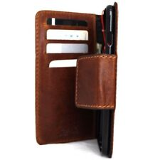 Genuine real italian leather Case for apple iphone 6s plus book wallet cover 6+s