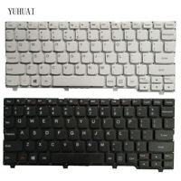 New  FOR  Lenovo 110S-11 110s-11IBR US Keyboard US White and black