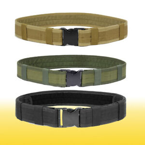 Multifunction Military Utility Nylon Belts Police Security Tactical Combat Gear