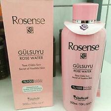 ROSENSE Rosenwasser 100% Natur DERMATOLOGISCH GETESTET 300 ml / 10 FL. OZ