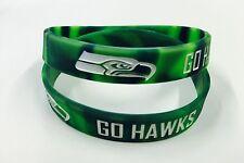 Seattle Seahawks GO HAWKS wristband