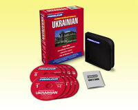 New 8 CD Pimsleur Learn Speak Conversational Ukrainian Language (16 Lessons)
