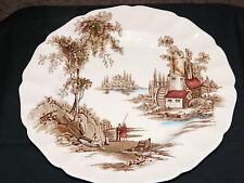 VINTAGE Johnson Brothers Staffordshire Collector Plate-IL VECCHIO MULINO