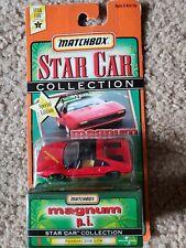 MATCHBOX STAR CAR COLLECTION MAGNUM PI RED FERRARI 308 GTB. NEW UNOPENED