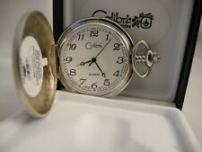 Movement Large Numbers Clearance 2 Colibri Silvertone Pocket Watch Japan