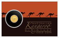 2019 P Australia 0.5 g Gold Kangaroo $2 Coin GEM BU SKU55528
