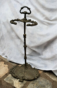 porta  attrezzi da camino PARACAMINO   in bronzo  alare parafiamma
