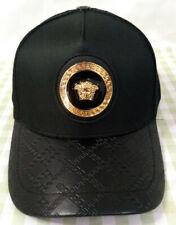 New Versace Mens Baseball Hat Cap Adjustable Cap Hat Unisex Golf Cap Black
