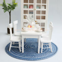 1:12 Dollhouse Carpet Floral Mat Decor Miniature Weaving Rug Kid Toys Access md