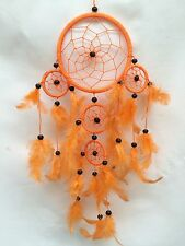 Dreamcatcher, Vibrant Orange With black beads, comes in another 5 great colours