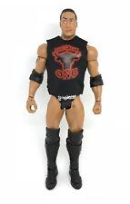 "NOX-T-R: Logo Shirt for 7"" Mattel The Rock Wresting Figure (No Tracking #)"