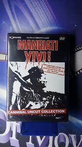 MANGIATI VIVI-UMBERTO LENZI-CANNIBAL*DVD*NUOVO