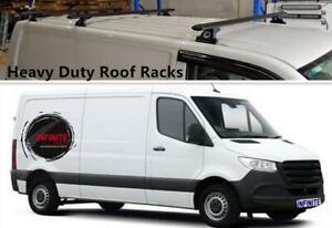 Set of 3 Heavy Duty Roof Racks Suitable for Mercedes-Benz Sprinter 2005-2020