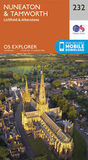 Nuneaton and Tamworth Explorer Map 232 - New - OS - Ordnance Survey