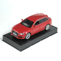 1:32 Audi RS6 Quattro Car Model Alloy Diecast Toy Vehicle Red Gift Pull Back