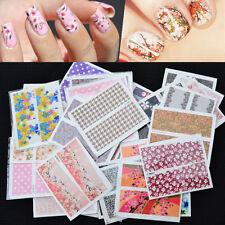 50er Set Nail Sticker Fingernägel Nageltattoo Aufkleber Fuß-Nägel Mische·
