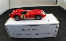 John Day GB Ferrari 250 Testa Rossa Sebring 1958 Kit monté 1/43