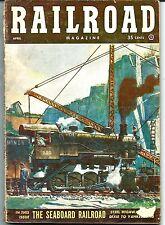 Railroad Magazine April 1953 The Seaboard Railroad