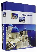 "Slip In Photo Album In Box Holds 200 6"" x 4"" Memo Holiday Greece Santorini"