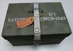 British Army 24 Hour Ration Tin