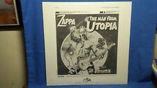 Zappa  The Man From Utopia Sampler 1983 Barking Pumpkin Avantgarde Rock Promo Ep