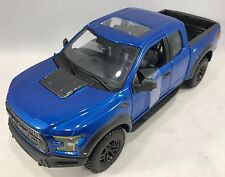 Maisto - 31266 - 2017 Ford Raptor F150 - Scale 1:24 - Blue